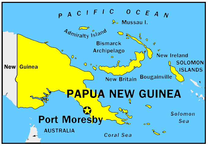 Papua New Guinea Oceania